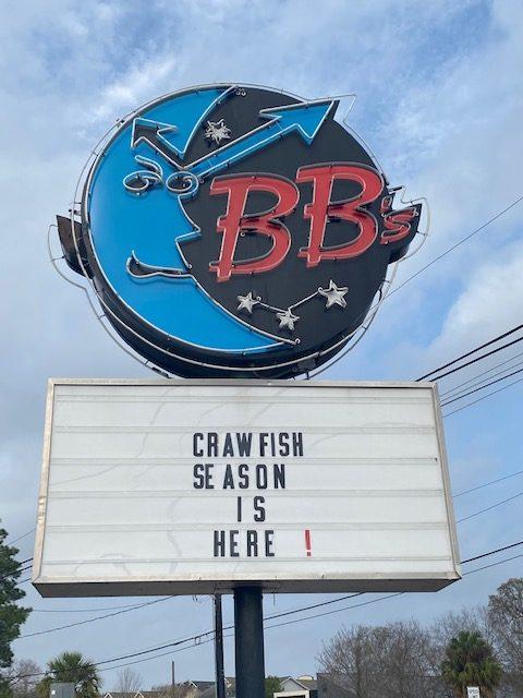 Crawfish season is here